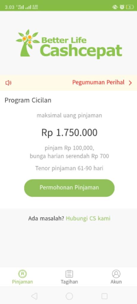 Pengalaman Layanan Pinjaman Online Cashcepat Cryptoharian