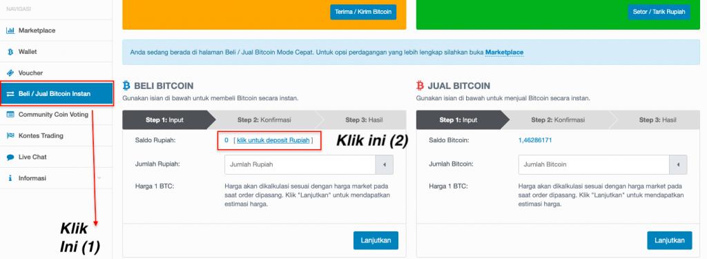 Cara Kerja Bermain Bitcoin di Tokocrypto